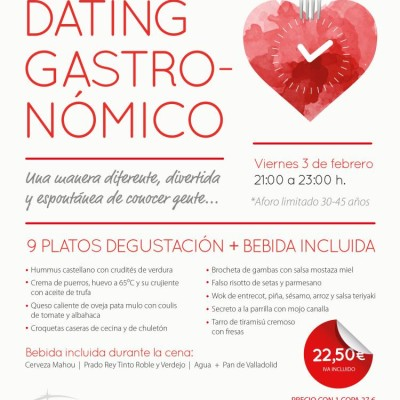 Speed Dating Gastronómico